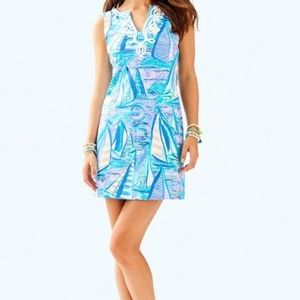 Lilly Pulitzer Harper Shift About Time Dress NWT